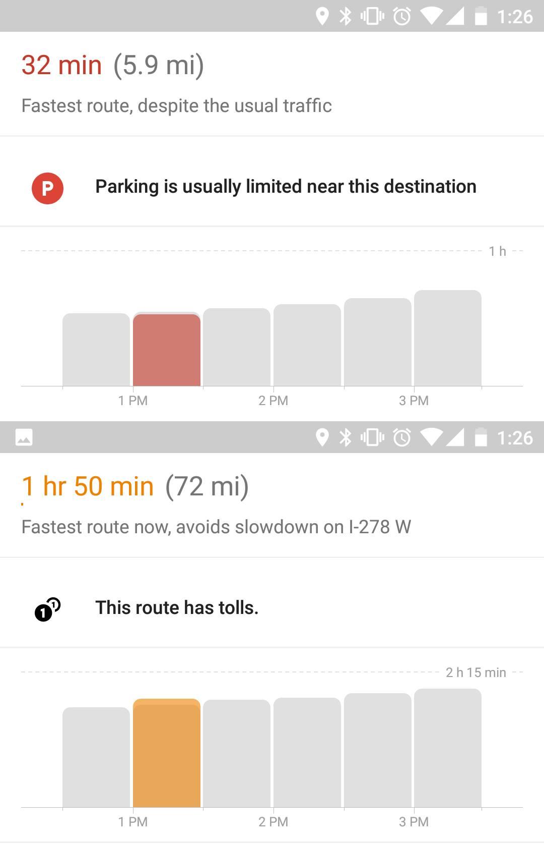 google maps alerte plecare destinatie