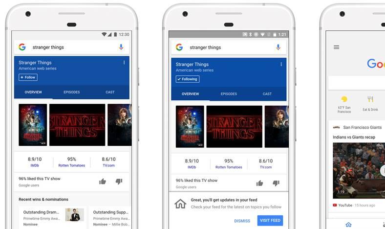google rezultate personalizate cautari