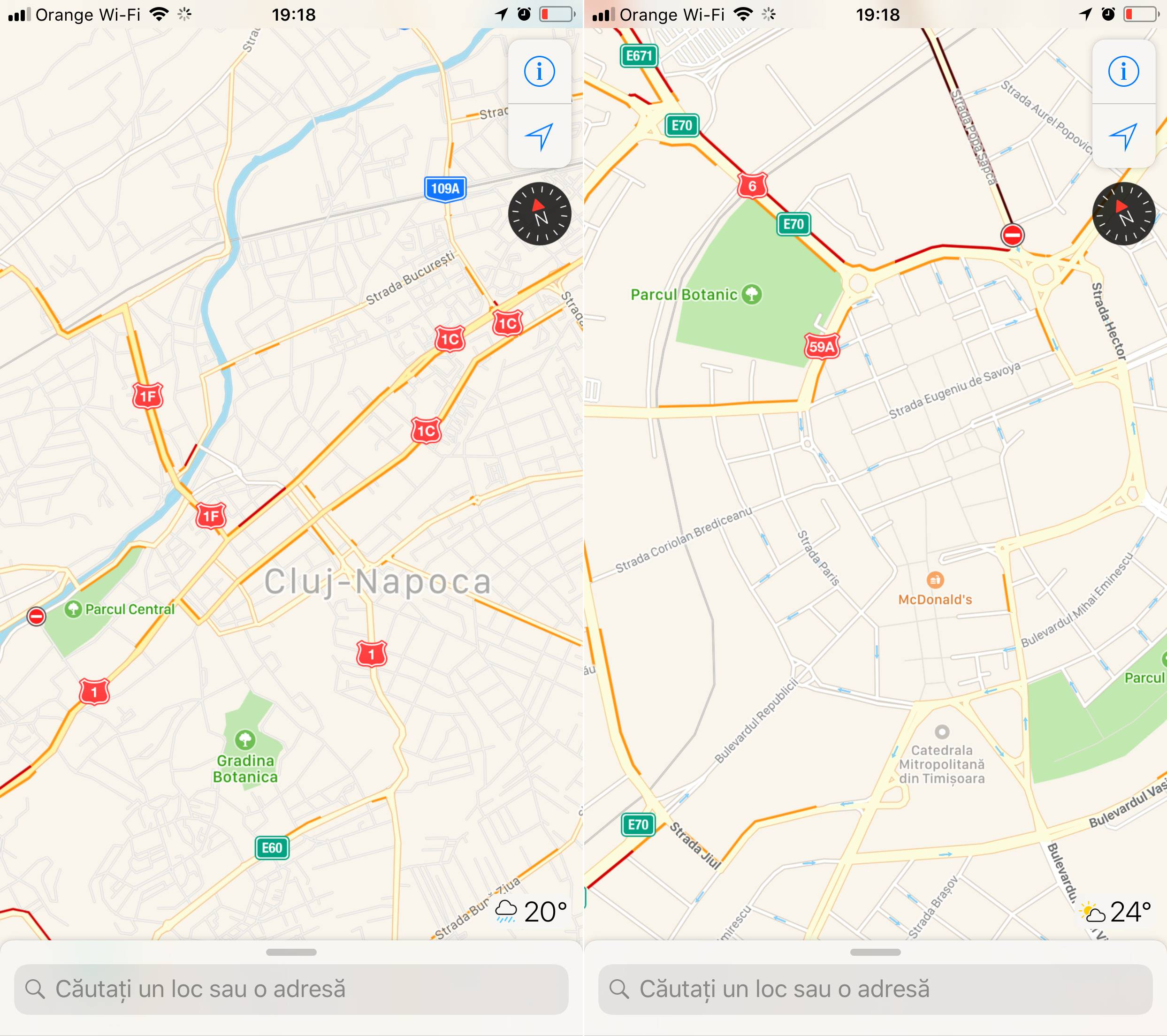 iOS 11 trafic Apple Maps 1