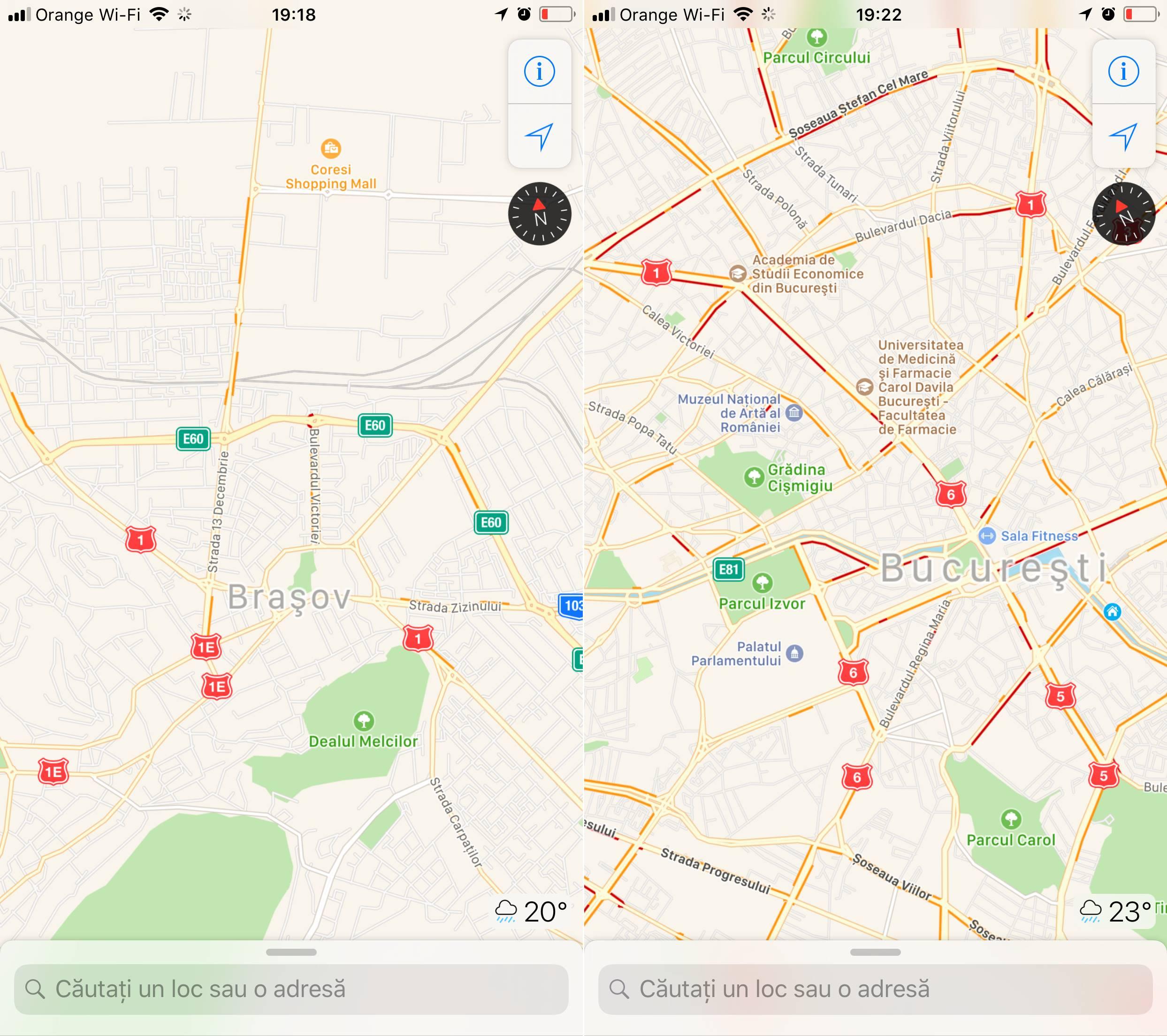 iOS 11 trafic Apple Maps