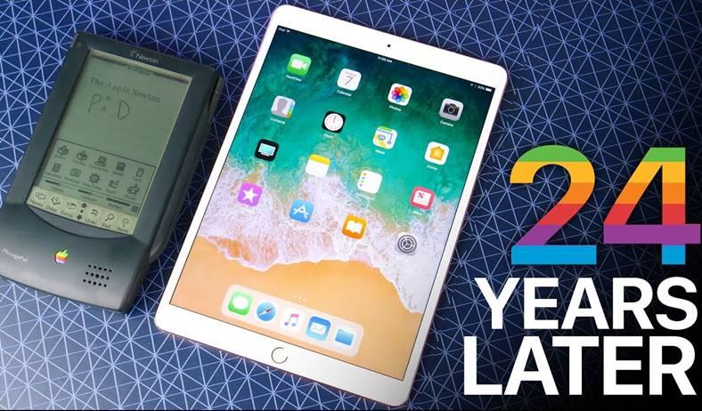 iPad pro 10.5 inch Apple Newton 24 ani