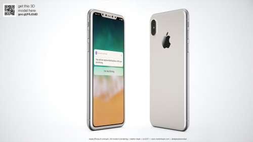 iPhone 8 alb concept