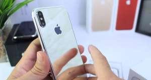 iPhone 8 carcasa oglinda video