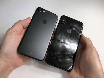 iPhone 8 comparat iPhone 7 7