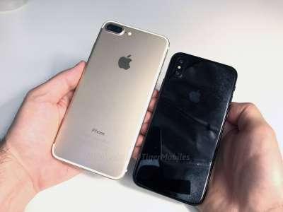 iPhone 8 comparat iPhone 7 9