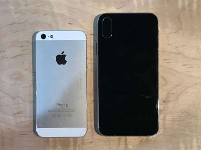 iPhone 8 comparatie iPhone 7 8