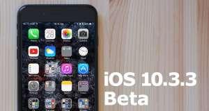 ios 10.3.3 beta 6 performante