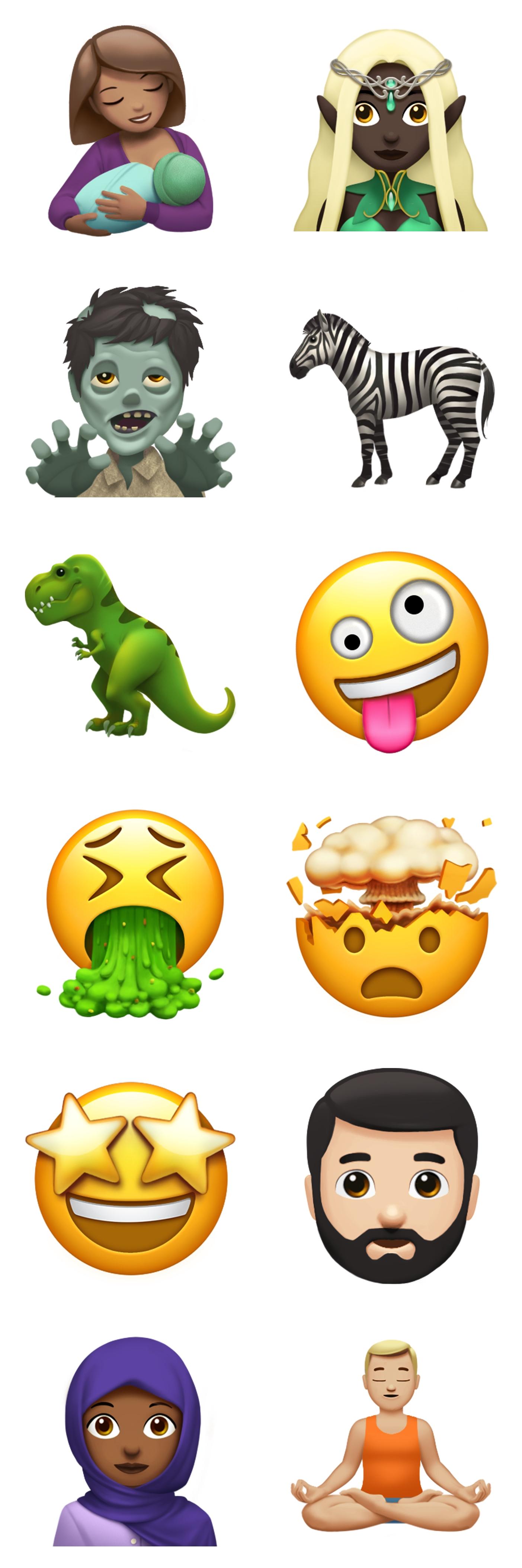 ios 11 emoji iPhone iPad