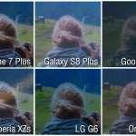 iphone 7 galaxy s8 oneplus 5 comparatie ecrane