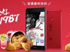 kfc huawei clona iphone 7 rosu