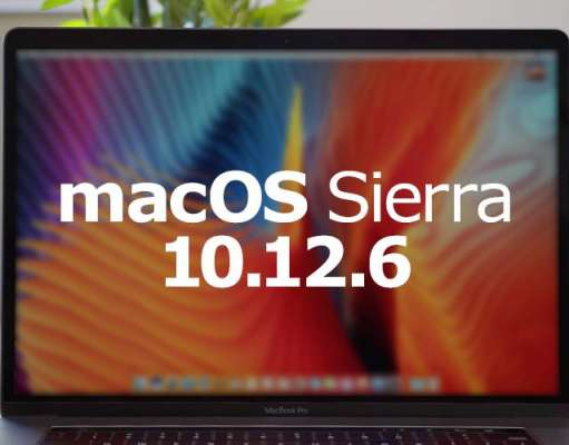 macOS Sierra 10.12.6