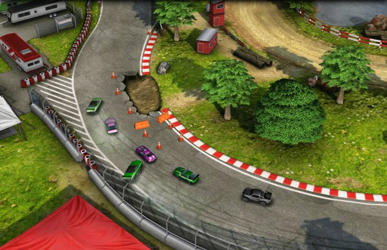 reckless racing 2 pret redus iphone ipad