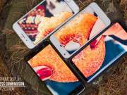 samsung galaxy s8 iphone 7 oneplus 5 comparatia ecranelor lumina soarelui