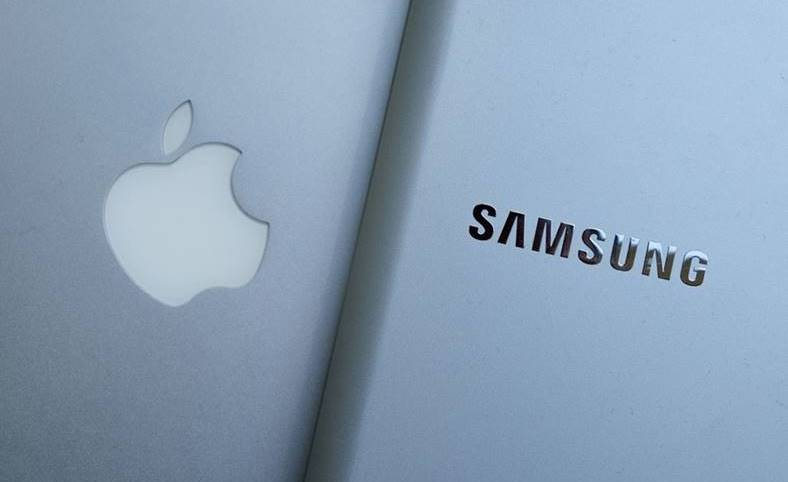 samsung intrece apple