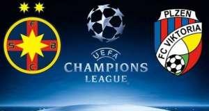 steaua viktoria plzen live tv online meci fotbal