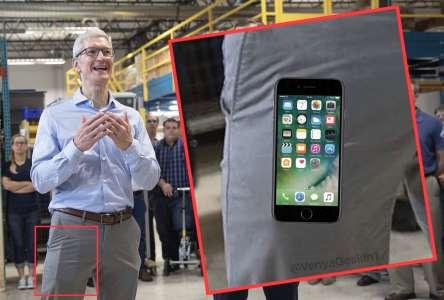 iPhone 8 buzunar presedinte apple