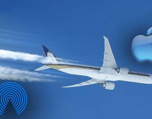 Apple AirDrop Avioane