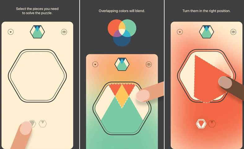 Colorcube iPhone iPad