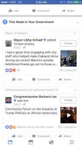 Facebook afiseaza Postarile Politicienilor