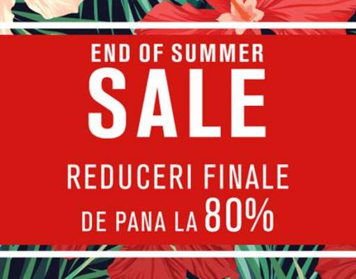 Fashion Days 21 August Reduceri End Summer Sale