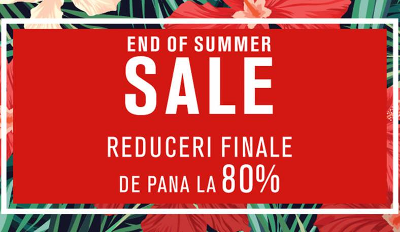 Fashion Days 21 August Reduceri End Summer Sale