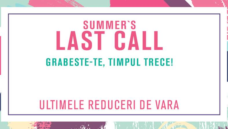 Fashion Days 27 August Oferte Summer Last Call