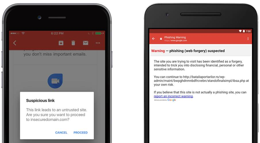 Gmail Functia Importanta Protejeaza