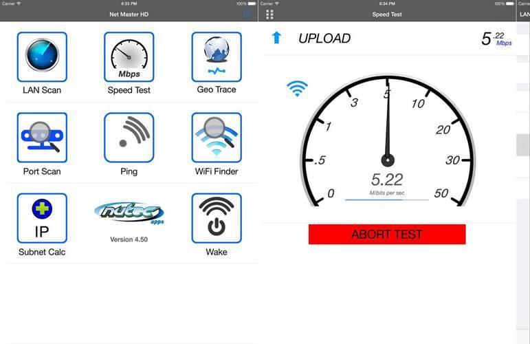 Net Master IT Tools & LAN Scanner utilitar internet oferit gratuit App Store