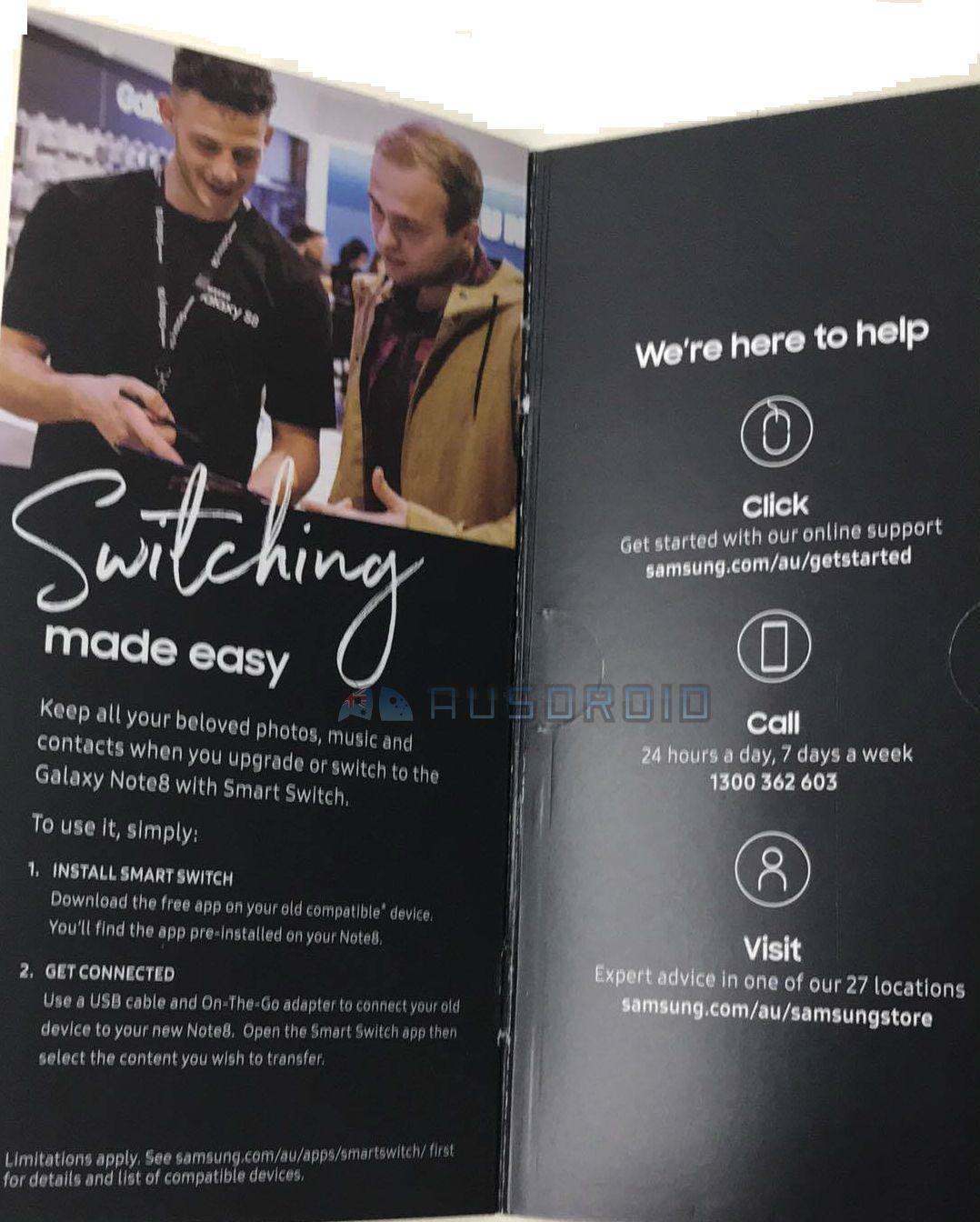 Samsung Galaxy Note 8 Functii Dezvaluite Material Promotional 1