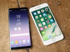 Samsung Galaxy Note 8 comparati iPhone 7 Plus