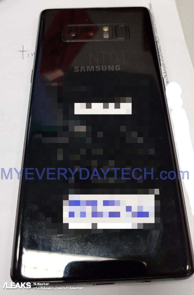 Samsung Galaxy Note 8 unitate reala 2