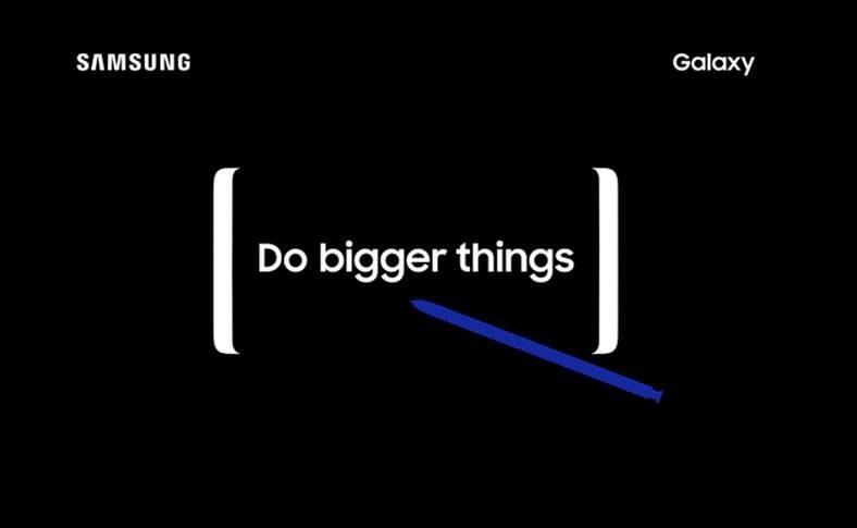 Samsung galaxy Note 8 lansare oficiala
