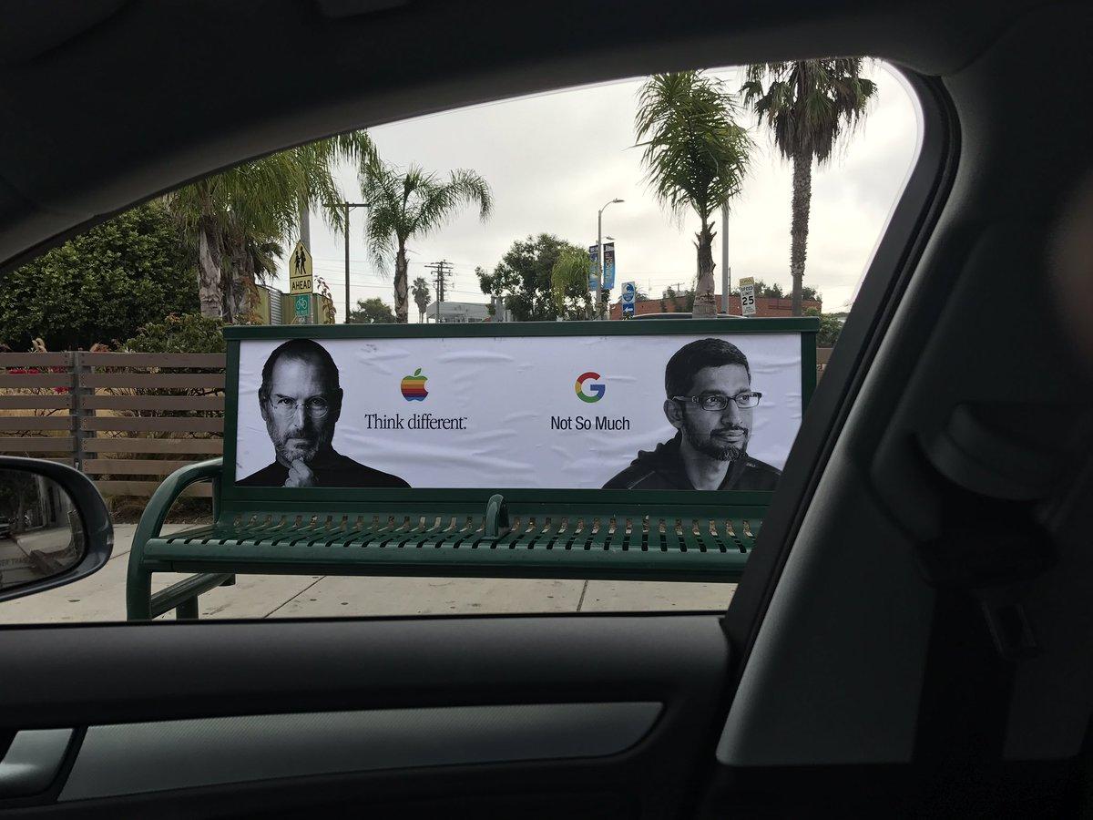 apple campanie impotriva google