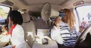 carpool karaoke reclame apple music