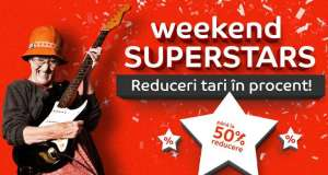 eMAG 6 august Weekend Superstars Mii Oferte