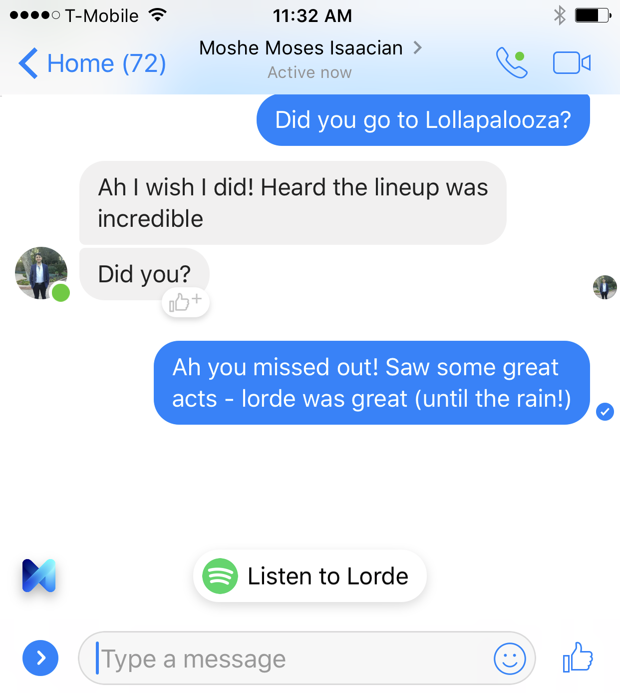 facebook messenger functia astepti ani zile