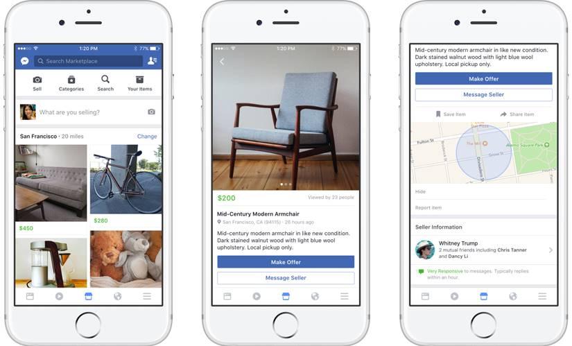 facebook olx.ro platforma vanzari