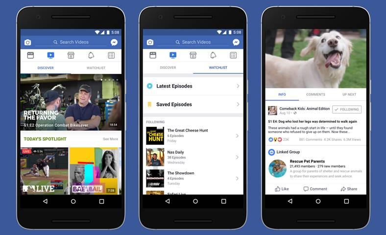 facebook watch filme seriale tv