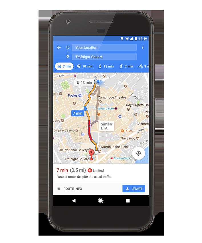 google maps extins functie utila