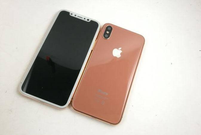 iPhone 8 Imagini Noua Culoare auriu sampanie