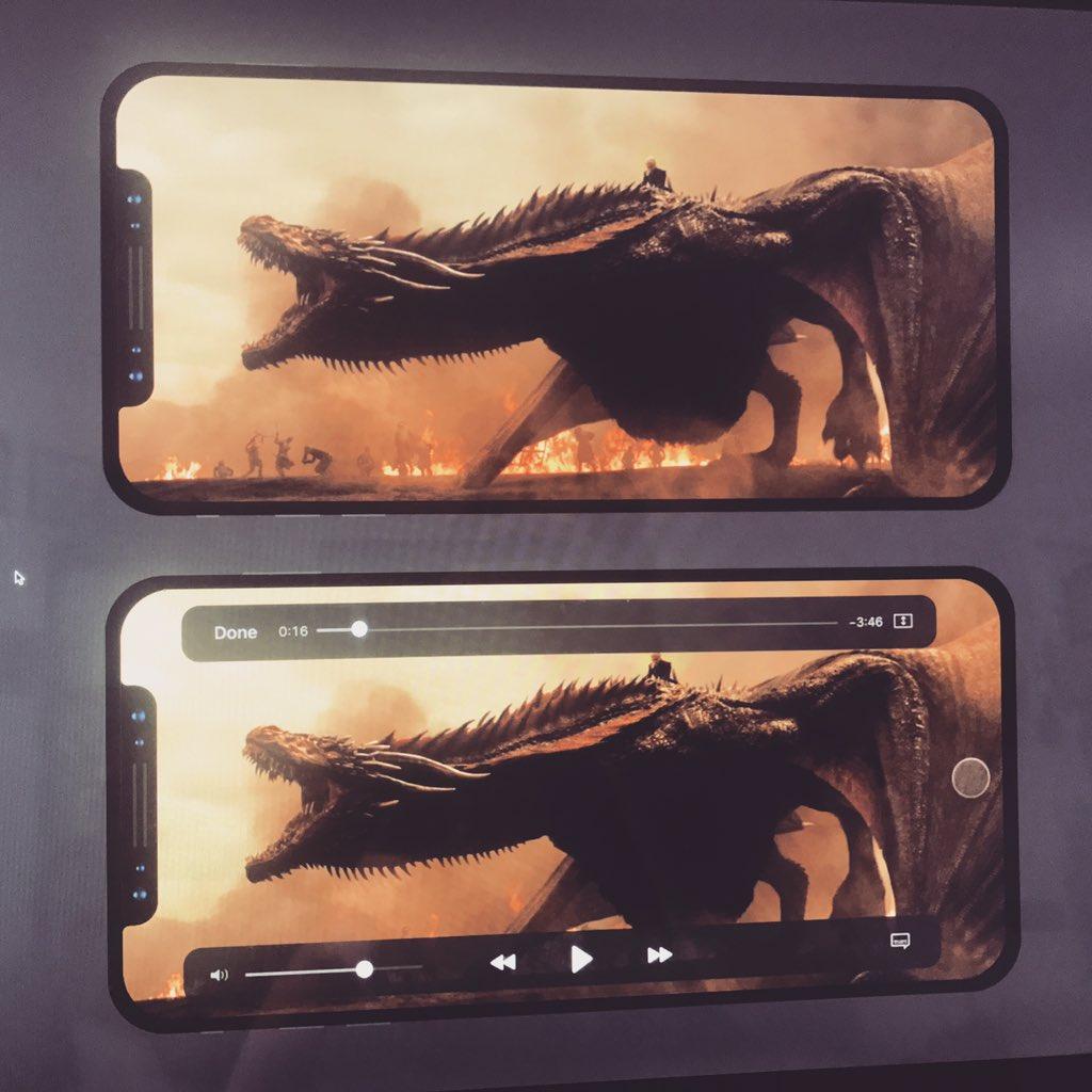 iPhone 8 continut ciudat ecran