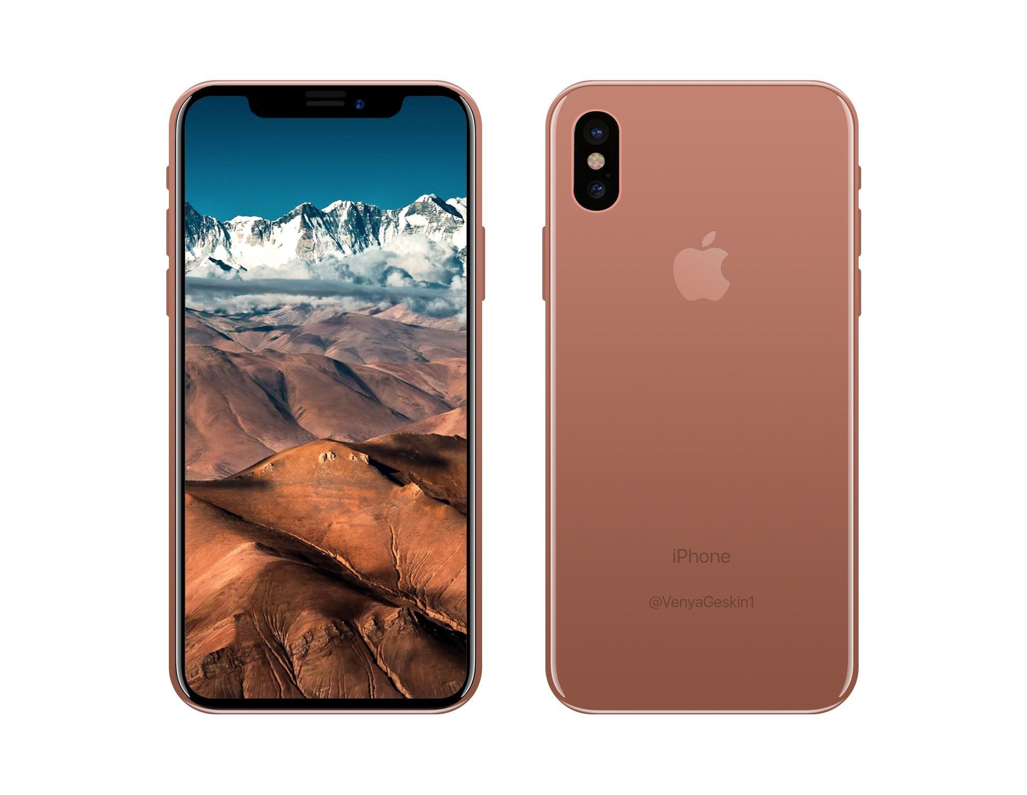 iPhone 8 culoare cupru auriu sampanie 1