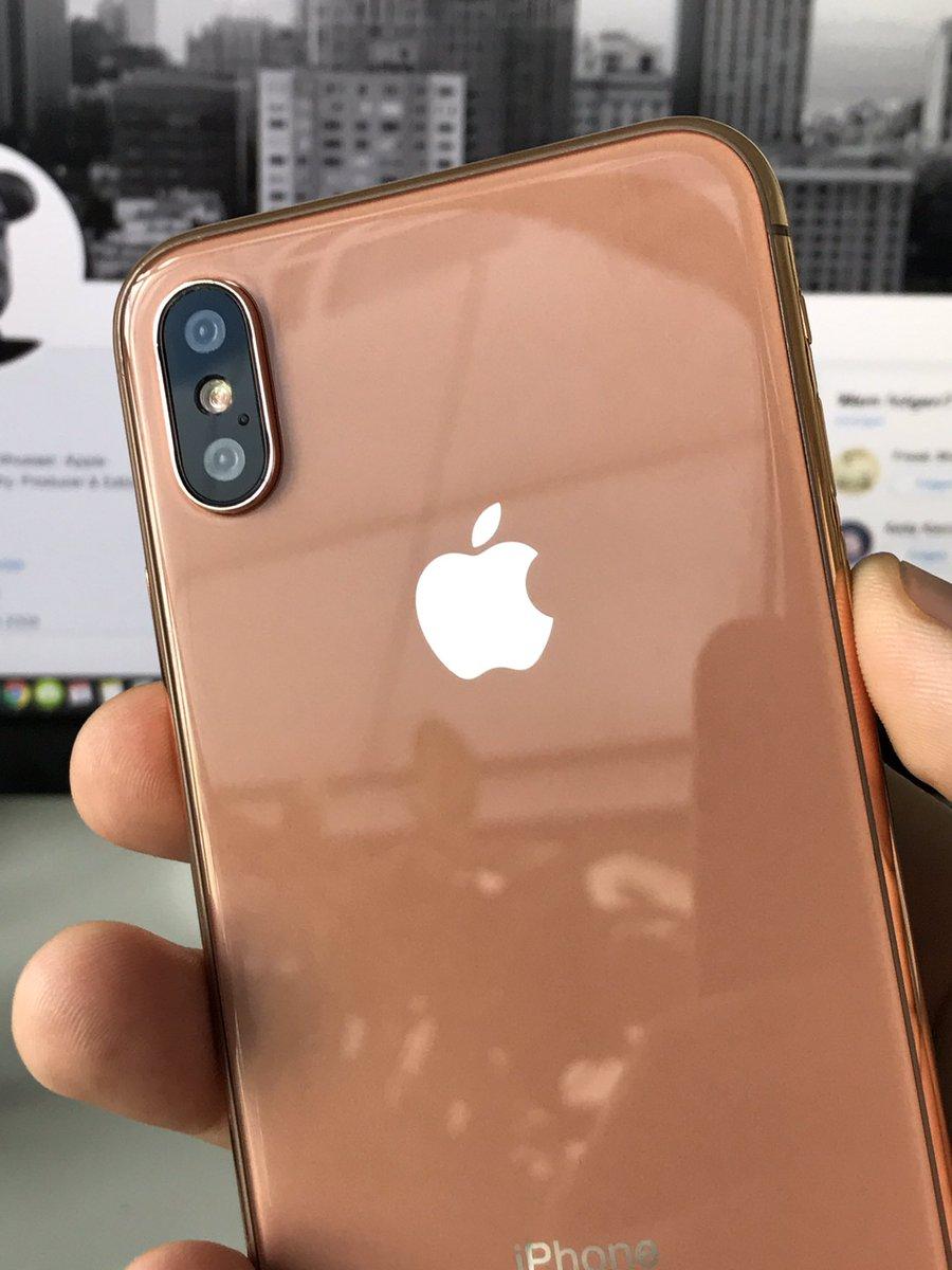 iPhone 8 culoare cupru auriu sampanie 2