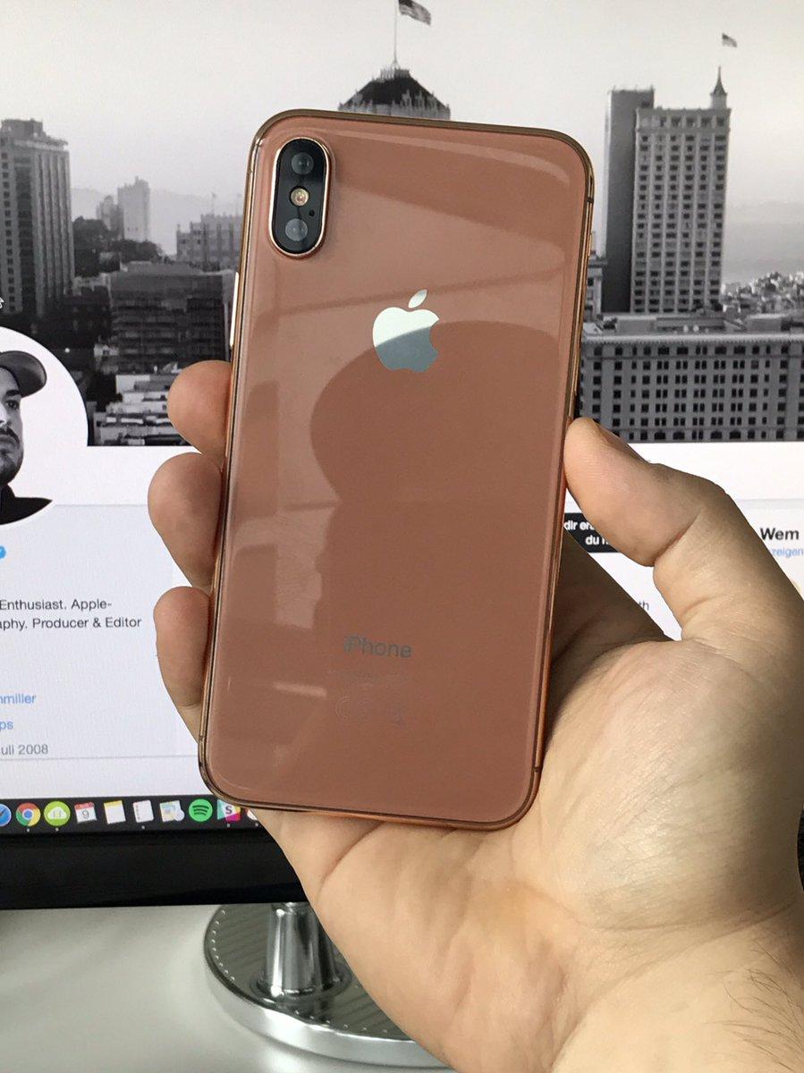 iPhone 8 culoare cupru auriu sampanie