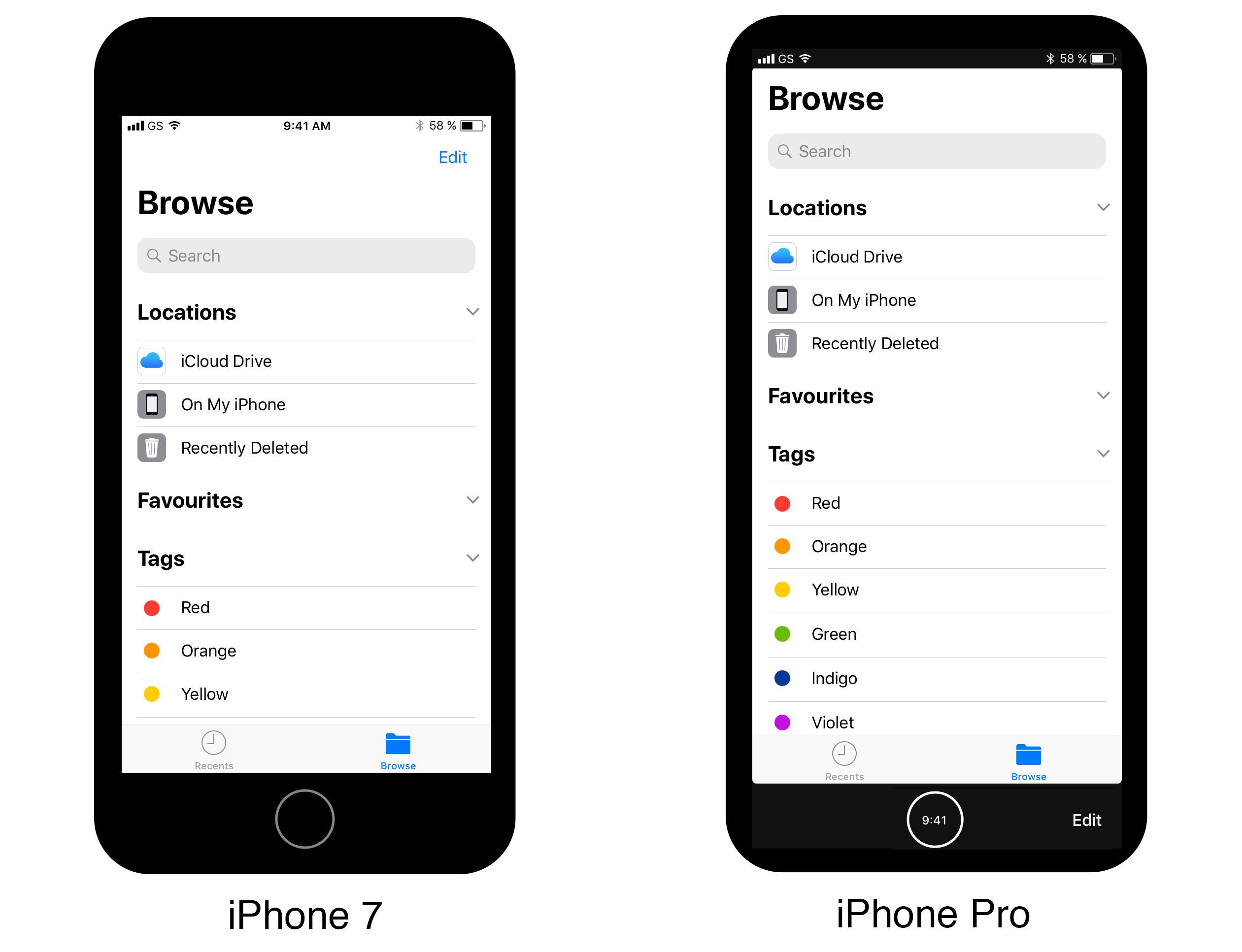 iPhone 8 ecran iPhone 7