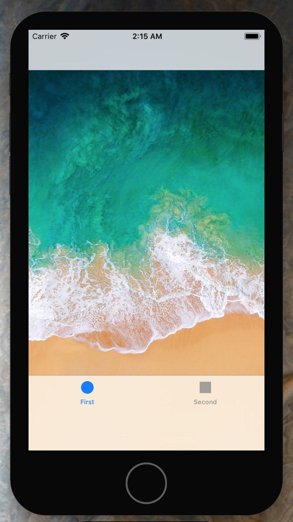 iPhone 8 surprinzator spatiu ecran