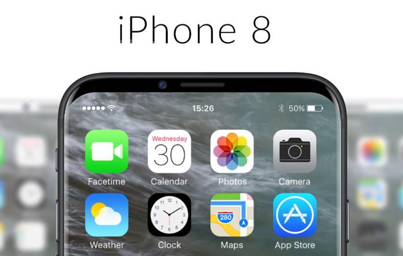 iPhone 8 surprinzator spatiu ecran aplicatii