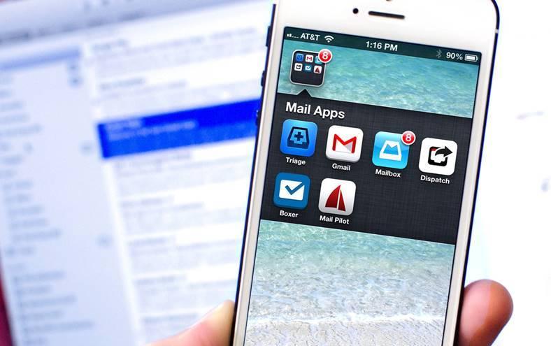 iPhone iPad Aplicatii eMail recomandate Apple