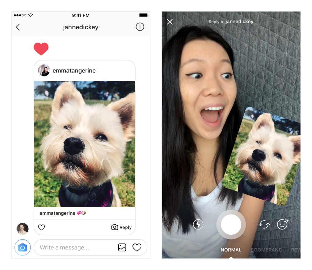 instagram moduri comenta