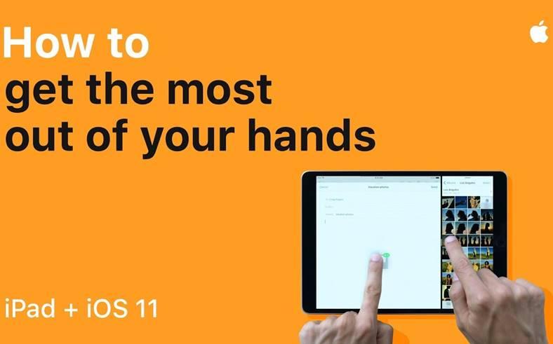 ios 11 apple functii ipad
